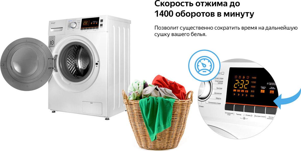 инверторный двигатель в стиральной машине быстрая сушка