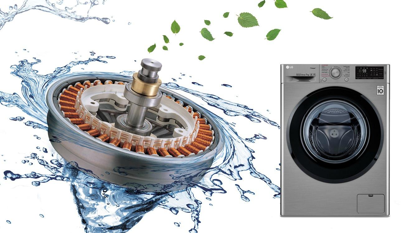 инверторный двигатель в стиральной машине принцип работы
