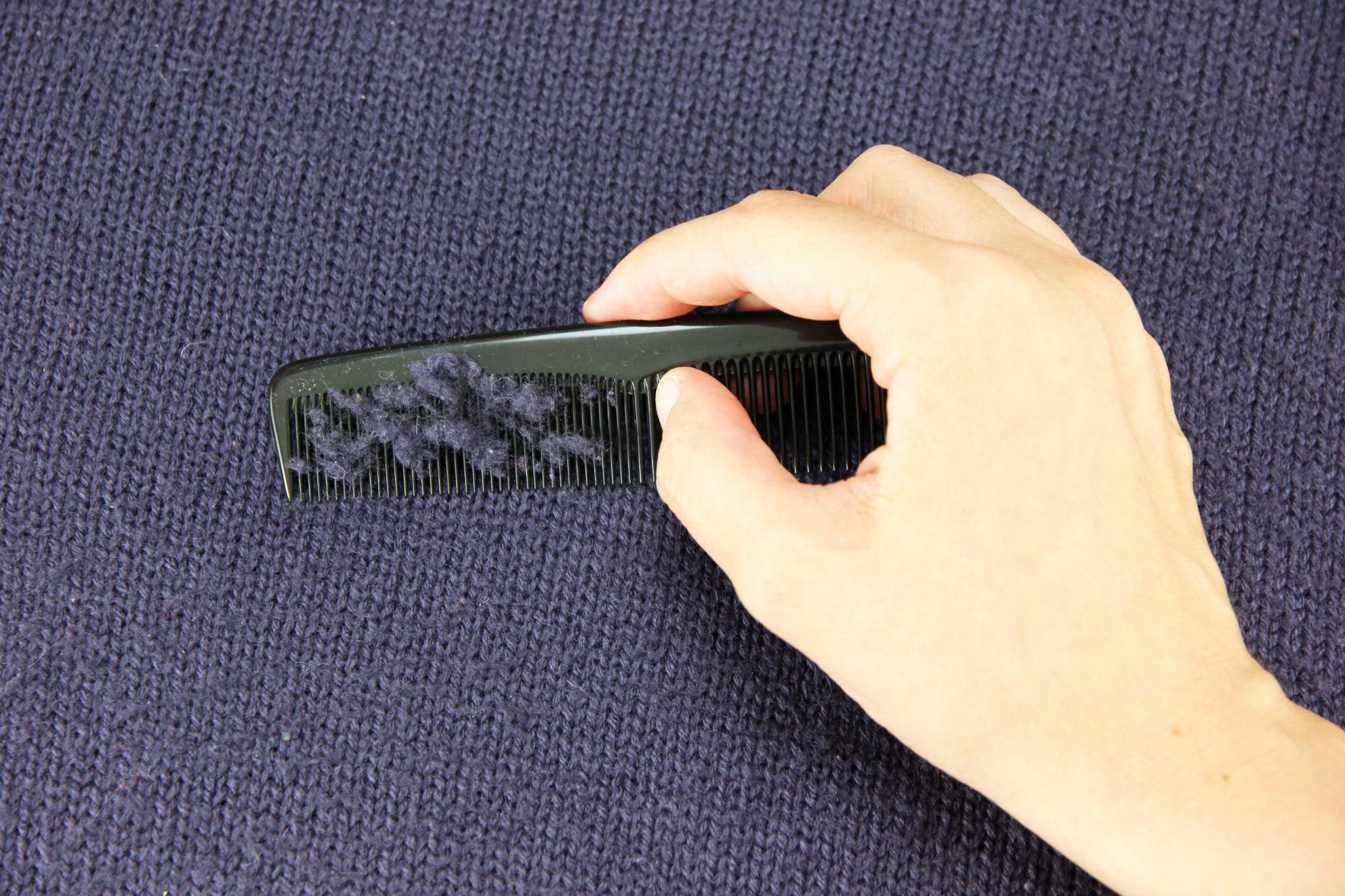 как избавиться от катышков расчёской