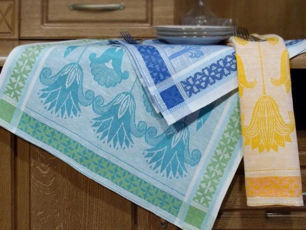 как отстирать кухонные полотенца от кофе