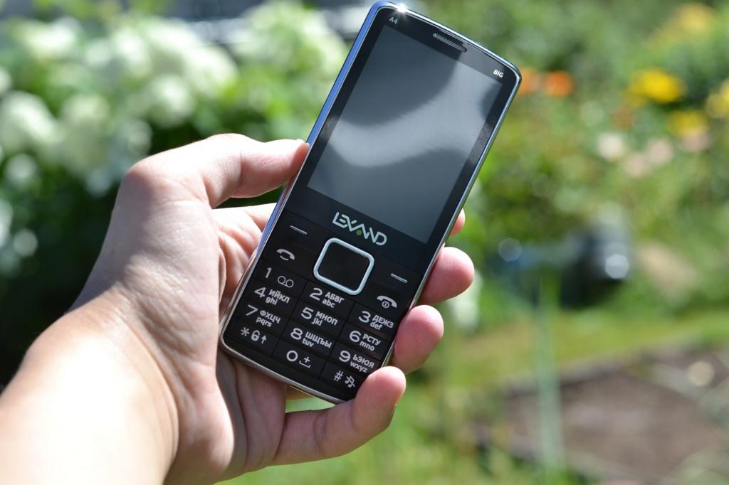 кнопочный телефон моноблок