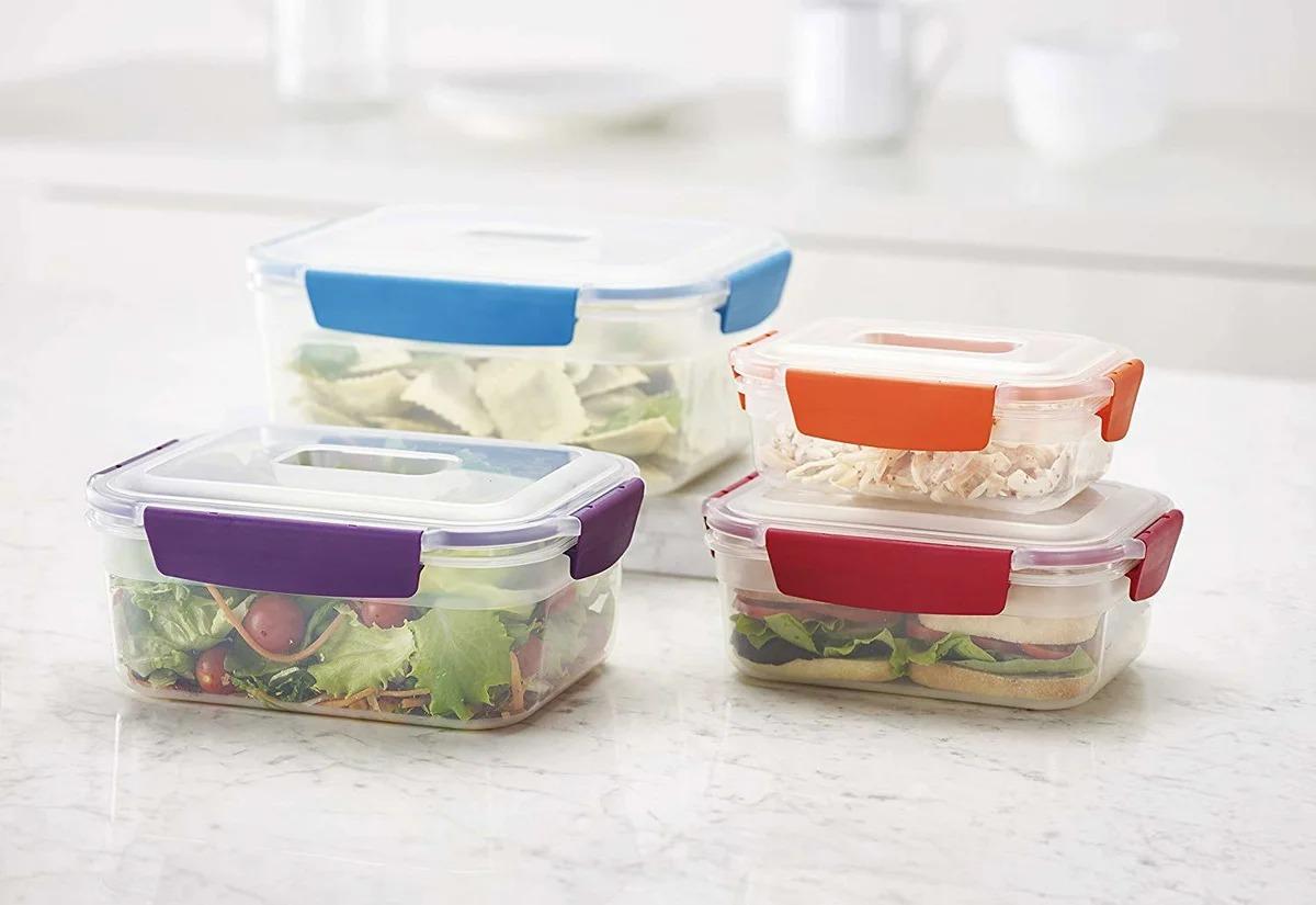 контейнеры из пластика для еды