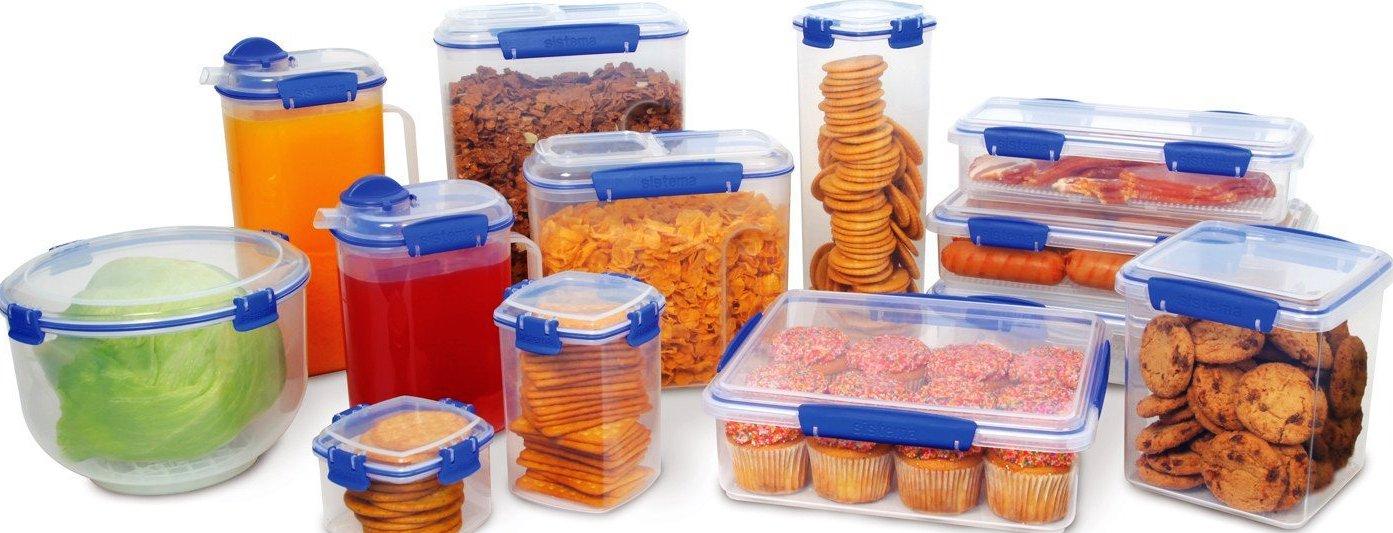 контейнеры из пластика для продуктов