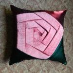 печворк наволочка с розой фото