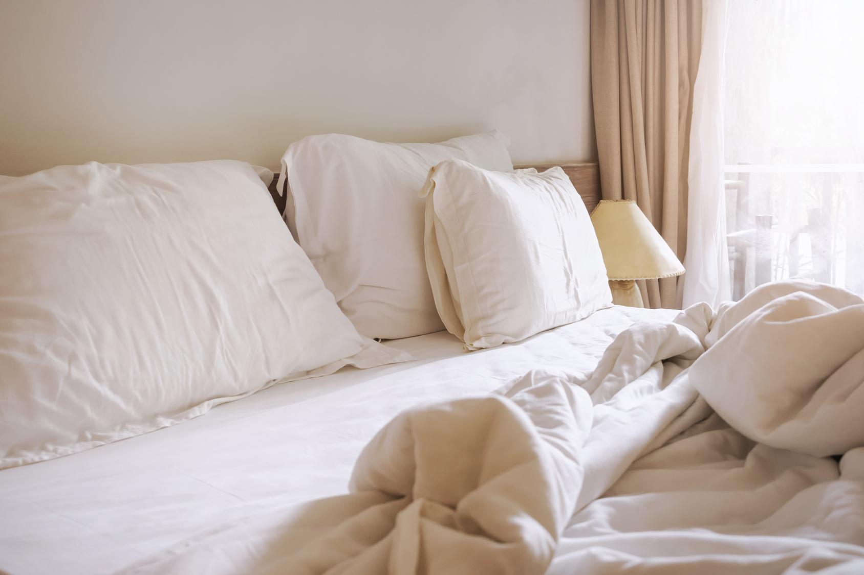 постель дома