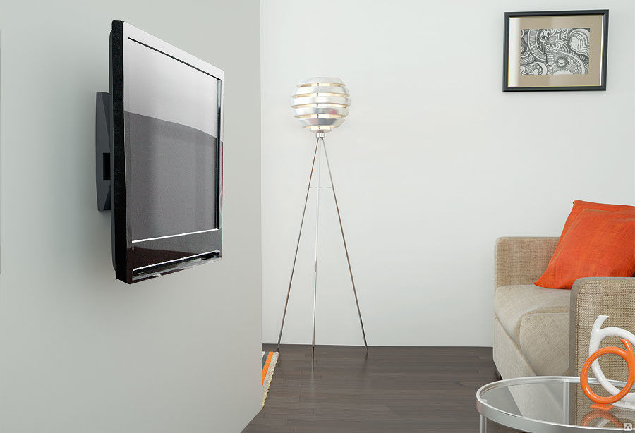 разновидности крепежей телевизоров
