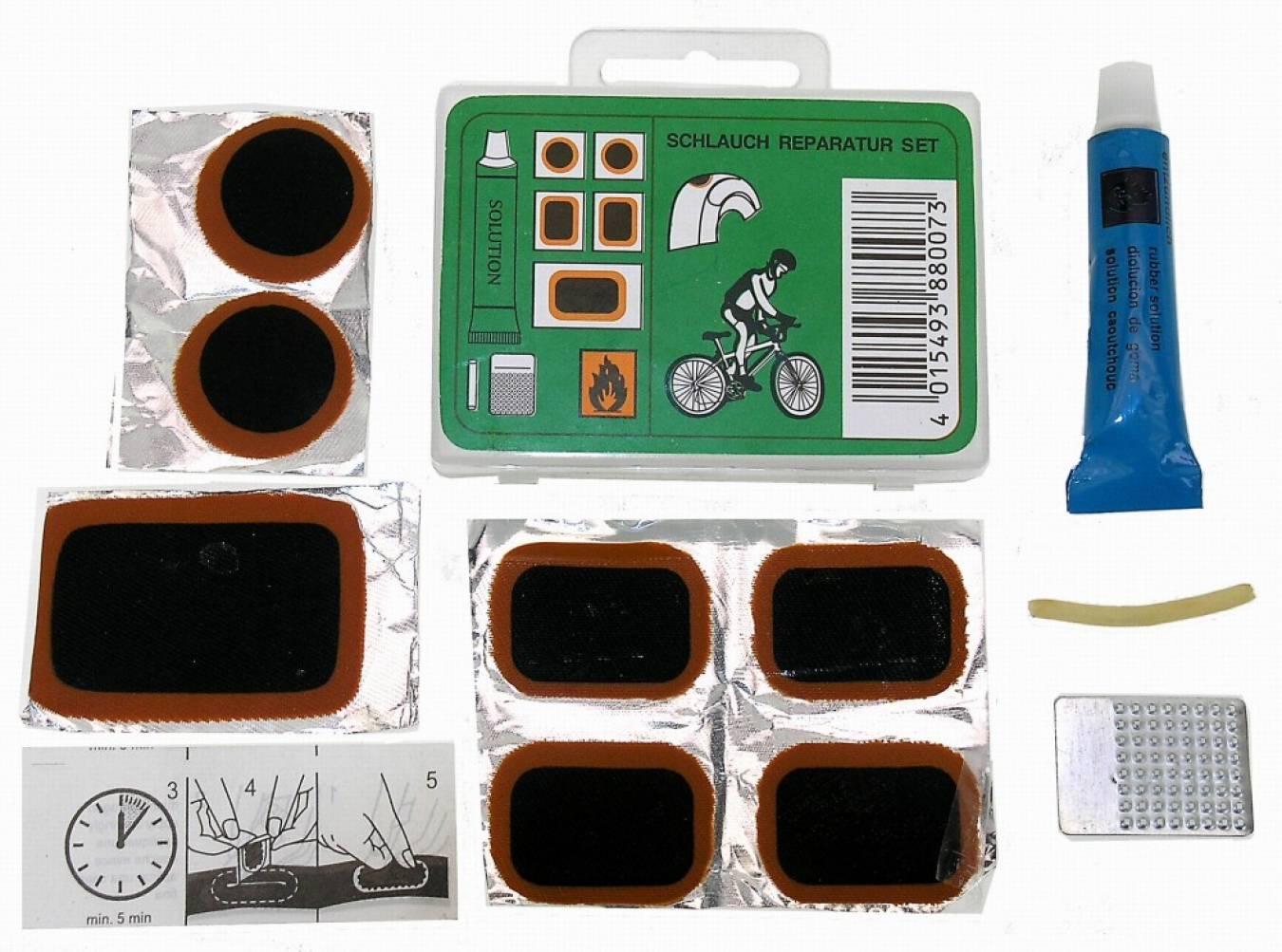 ремкомплект для камеры велосипеда фото
