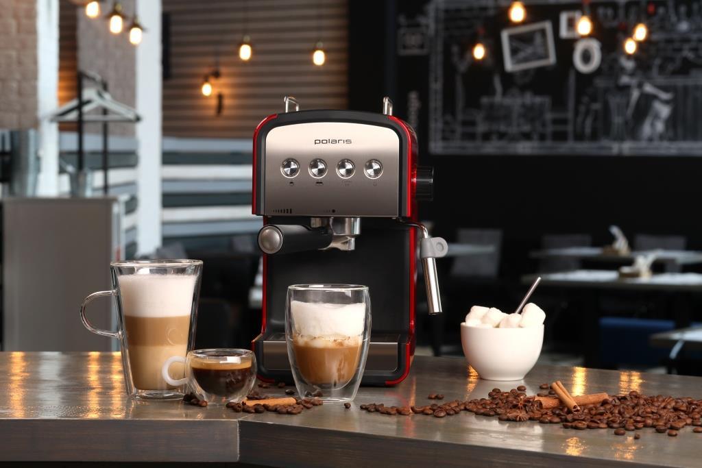 рожковая кофеварка как работает