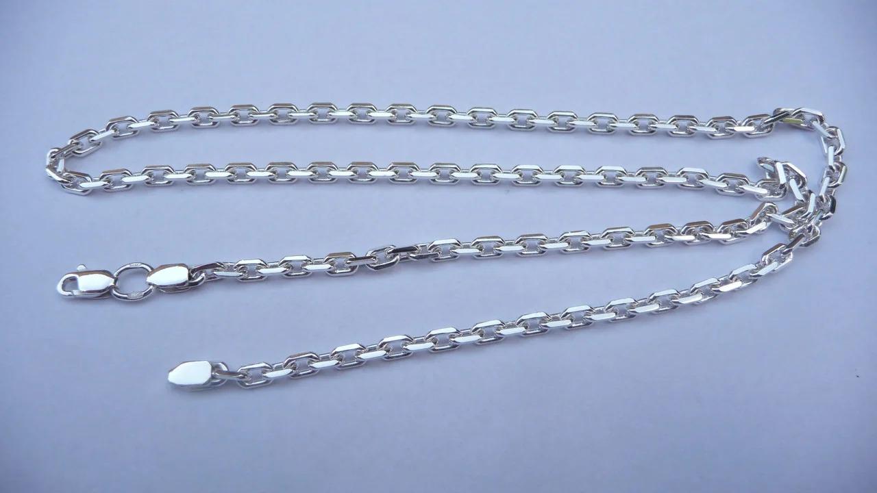 серебряная цепочка длинная