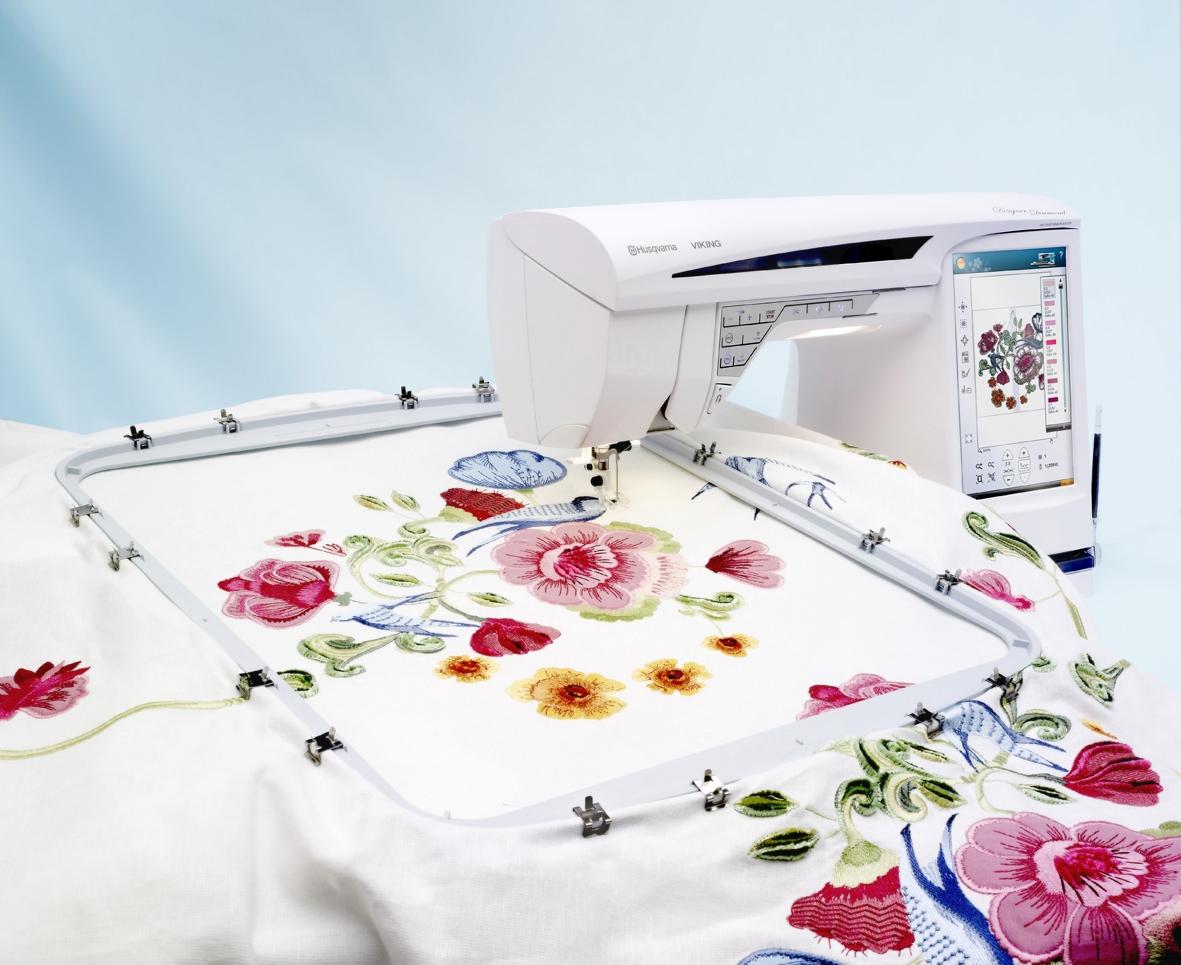 швейно вышивальная машинка