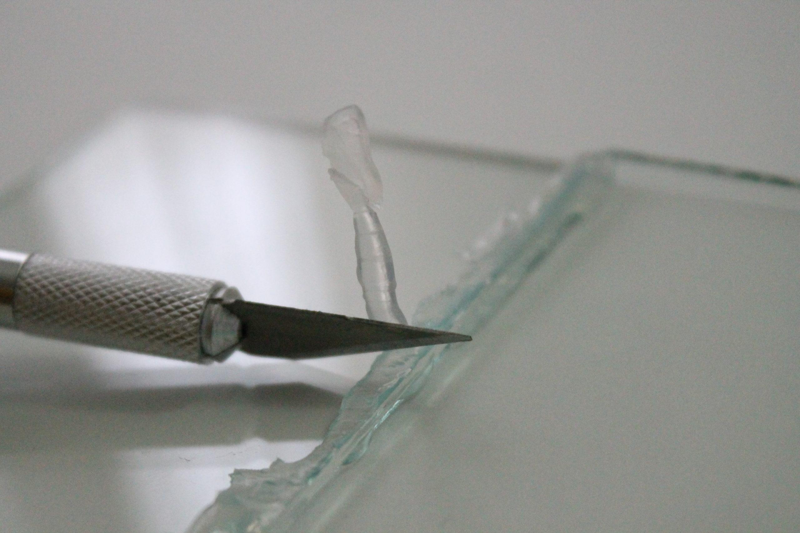 склейка стекла своими руками