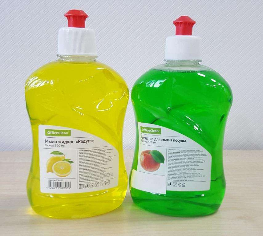 средство для мытья посуды для натяжных потолков