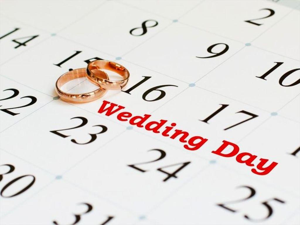 свадьба в 2020 даты