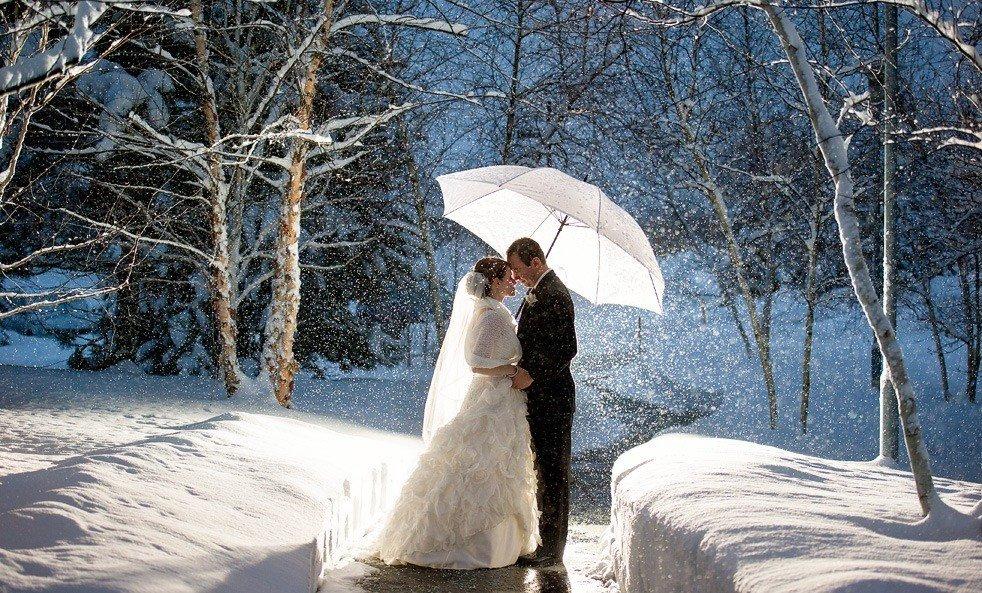 свадьбе в декабре