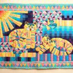 текстиль в технике пэчворк декор