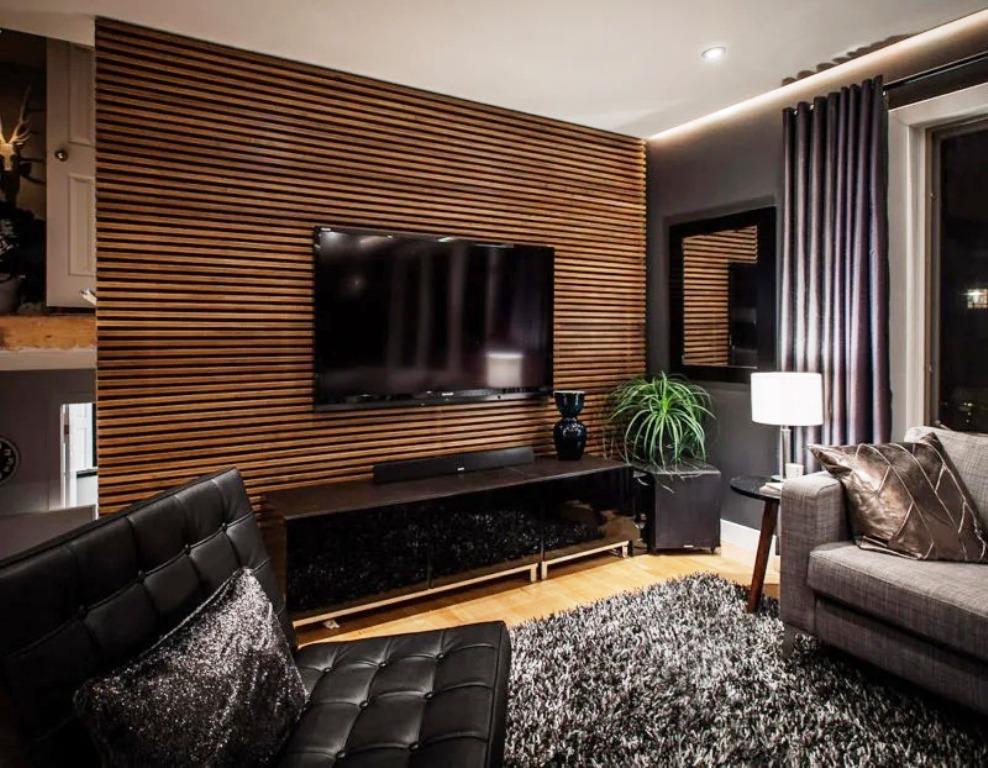 телевизор в гостиной средняя высота от пола