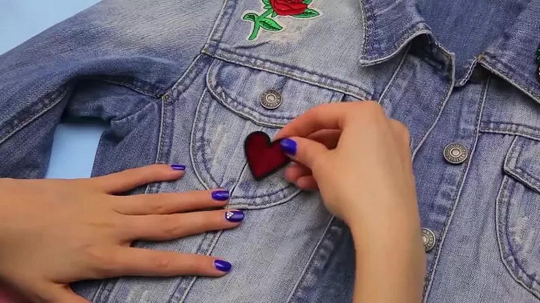термонаклейки на одежду