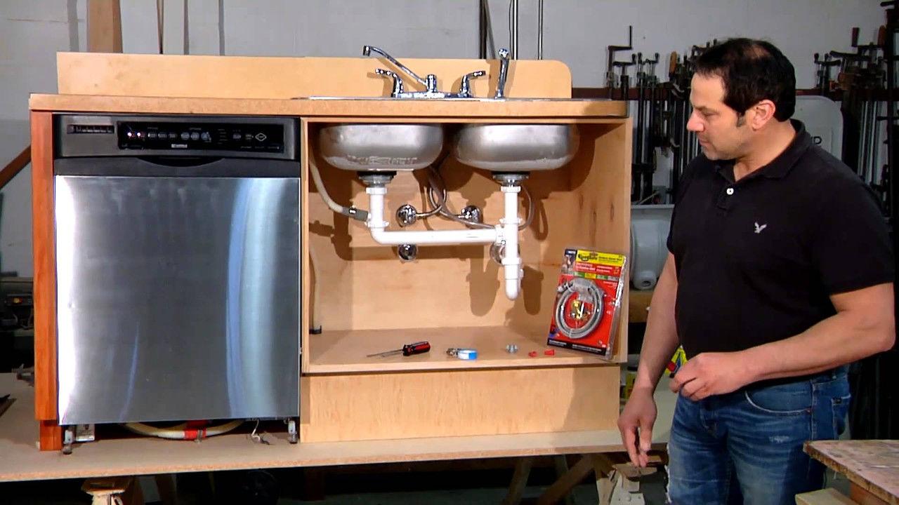 установка посудомоечной машины идеи