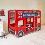 кровать машинка в стиле лондона