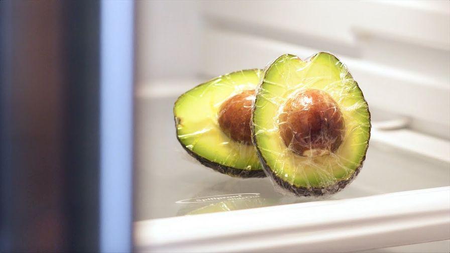 авокадо в морозильнике