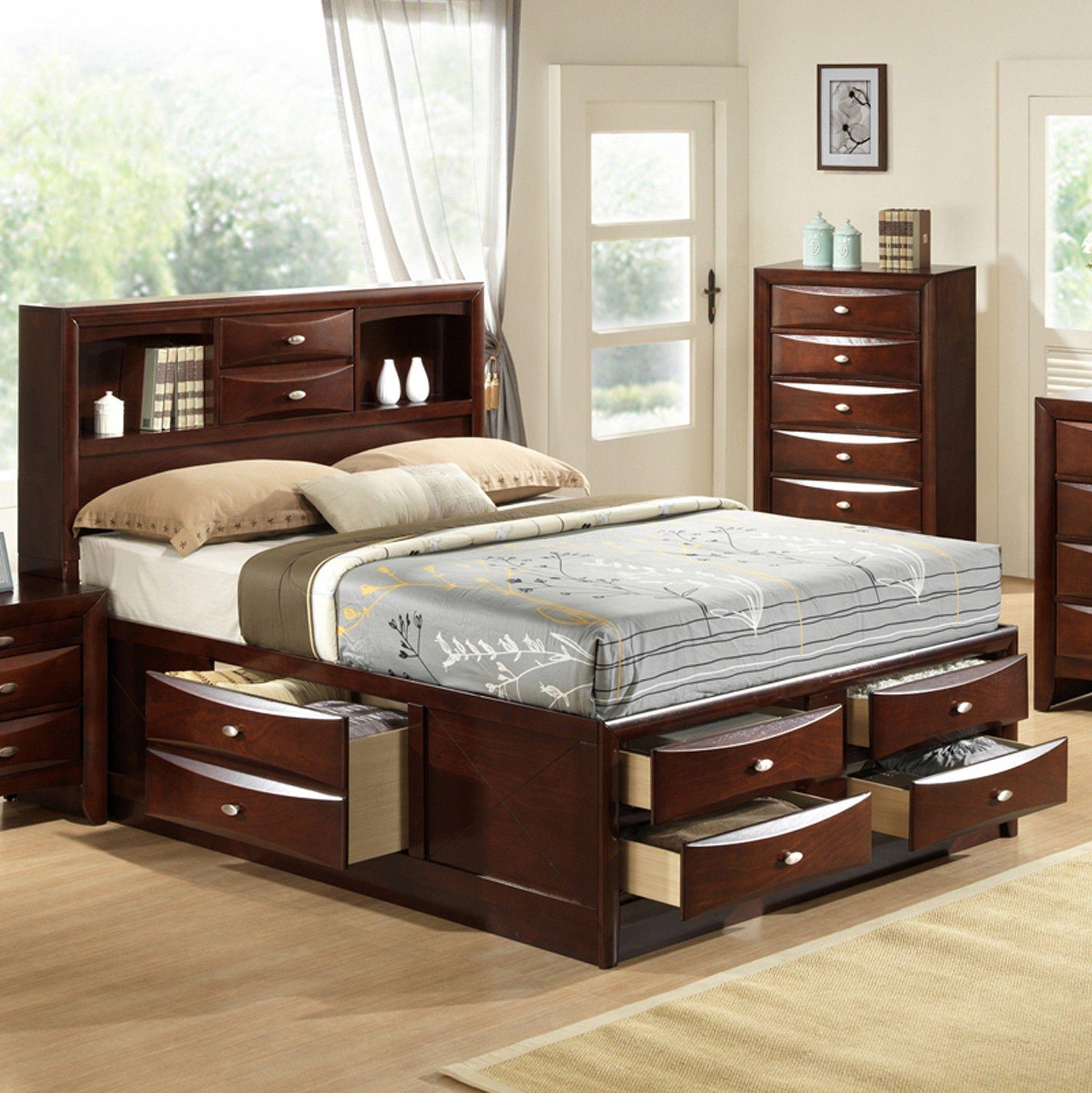 цена кровати с выдвижными ящиками