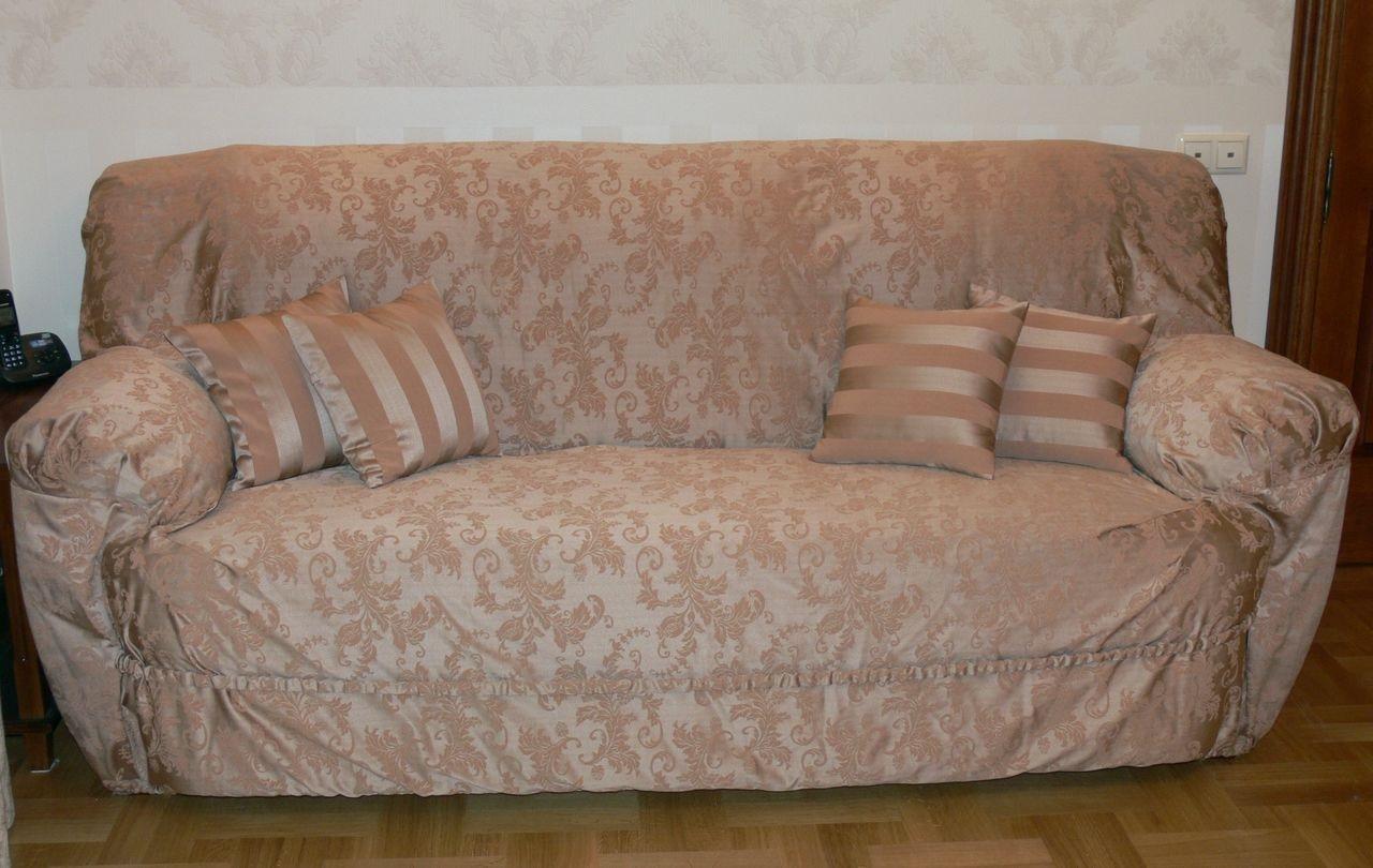 чехол на диван самодельный