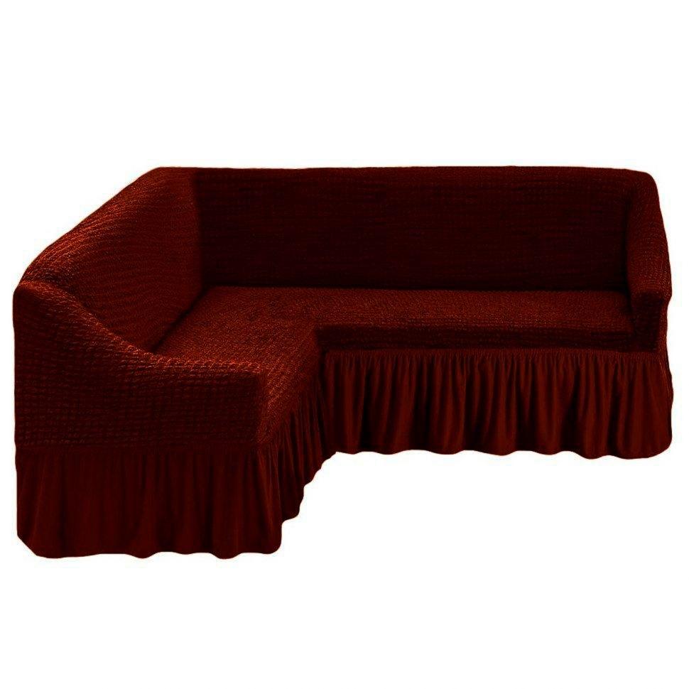 боровый чехол на угловой диван