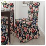 чехол для стула с розами
