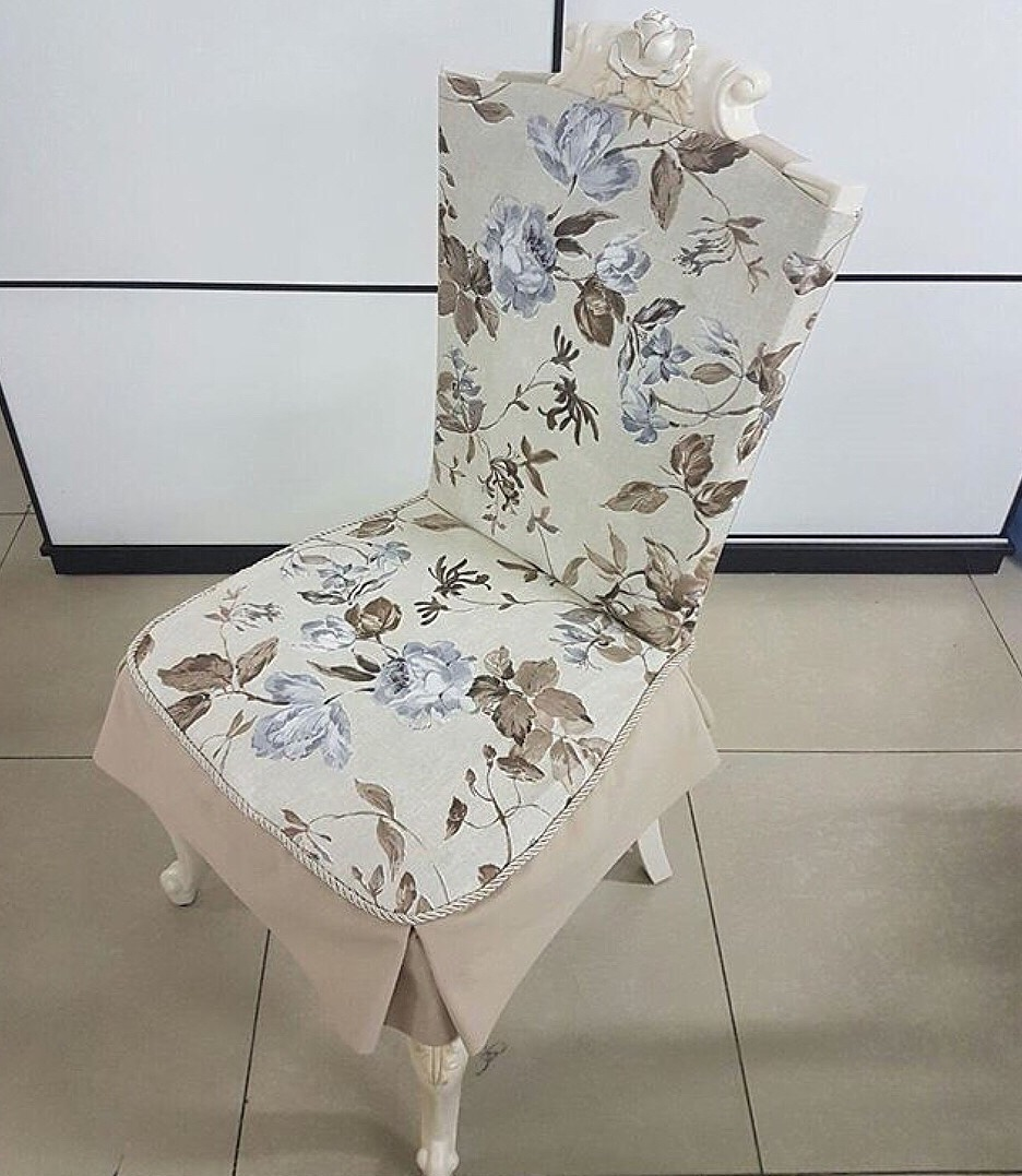 чехол для стула модерн