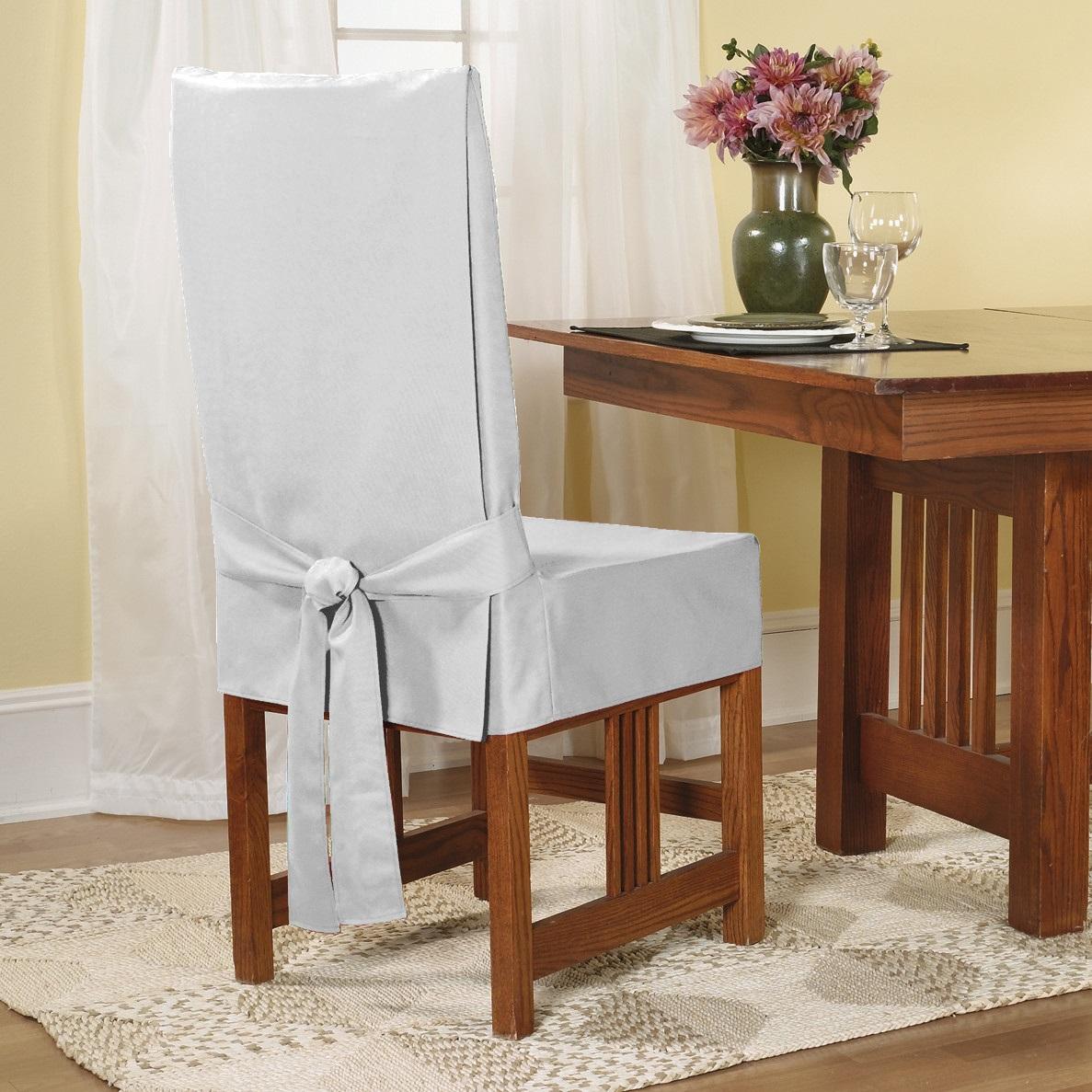 чехол для стула из шелка