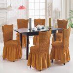 чехол для стула оранжевый