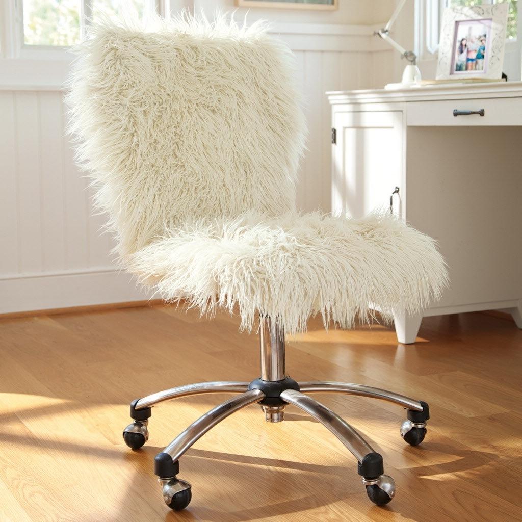 чехол для стула из меха