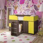 детская кровать чердак дизайн фото