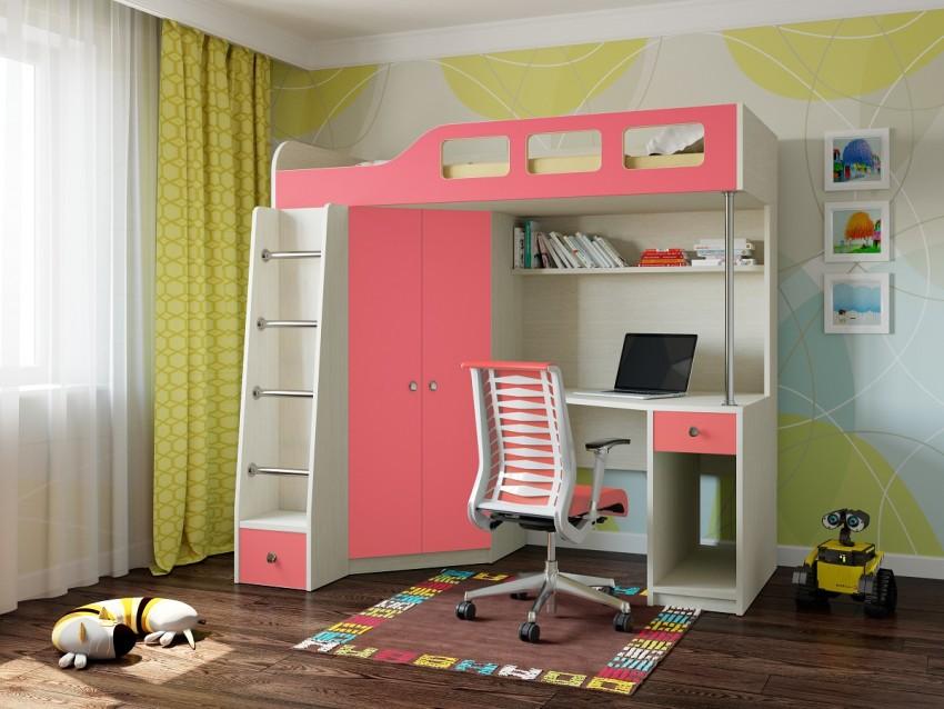 детская кровать чердак идеи дизайн