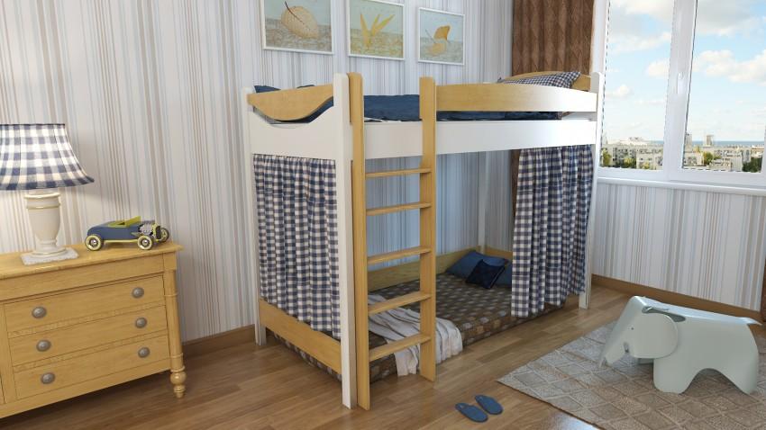 детская кровать чердак идеи