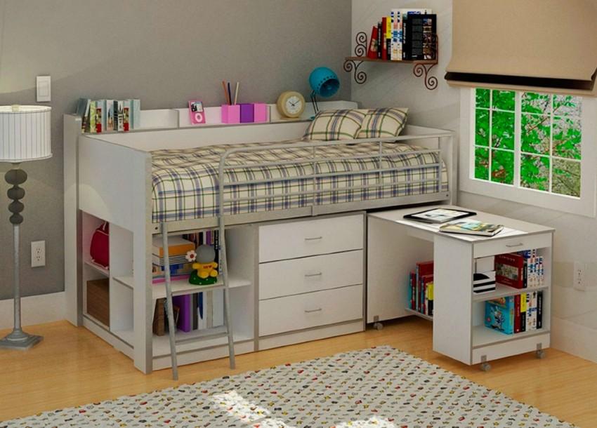 детская кровать чердак оформление фото