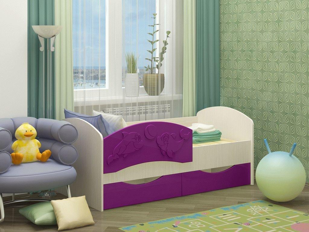 детская кровать дельфин дизайн идеи