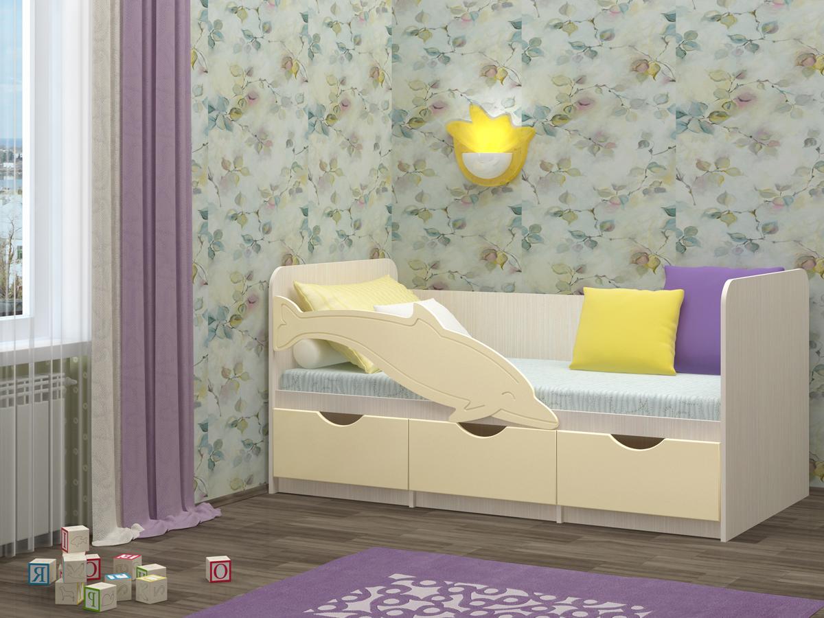 детская кровать дельфин фото дизайна