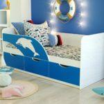 детская кровать дельфин фото оформления