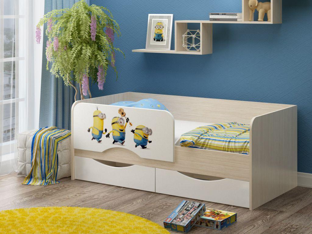 детская кровать с бортиками идеи дизайна