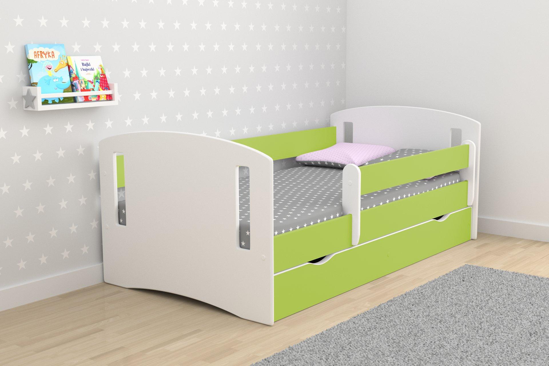 детская кровать с бортиками идеи фото