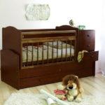 детская кровать трансформер интерьер