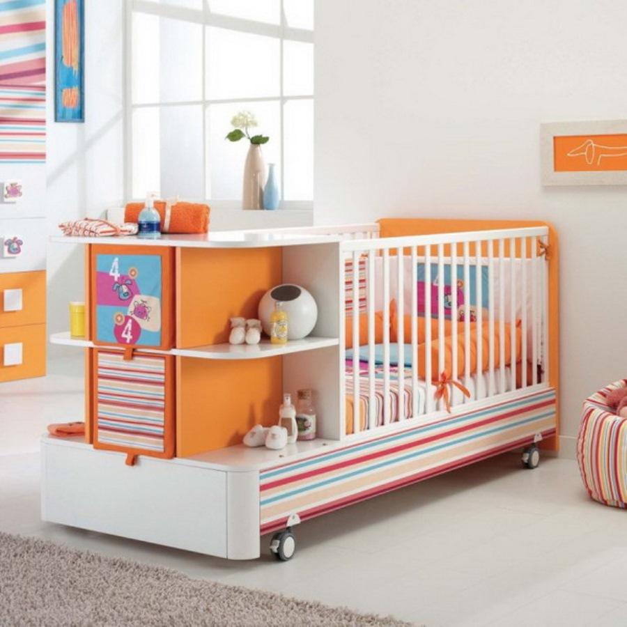 детская кровать трансформер для новорожденных