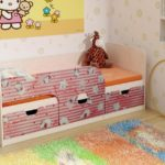 детские кровати с бортиками от 3 лет идеи декор
