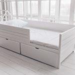 детские кровати с бортиками от 3 лет интерьер