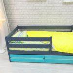 детские кровати с бортиками от 3 лет фото интерьер