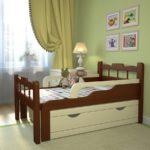 детские кровати с бортиками от 3 лет фото оформления