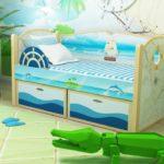 детские кровати с бортиками от 3 лет идеи оформление