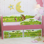 детские кровати с бортиками от 3 лет идеи фото