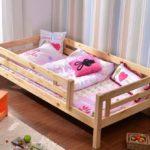 детские кровати с бортиками от 3 лет идеи варианты
